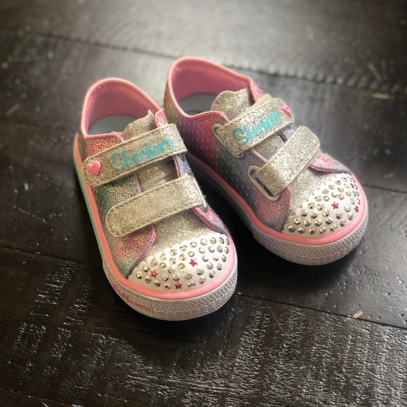 Light up twinkle toes by sketchers